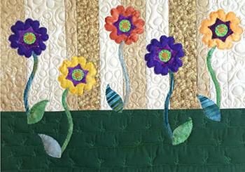 Spring blooms applique tutorial gammill longarm quilting machines